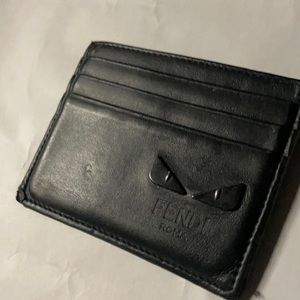 Authentic Fendi cardcase. Well used.